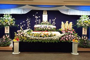 一般葬の祭壇