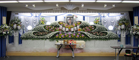 住吉区・住江・堺 一般葬の祭壇