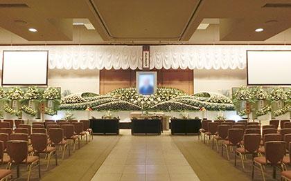阿倍野区やすらぎ天空館で行った一般葬