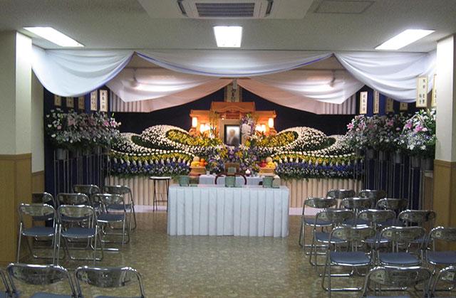 住之江区の集会場で行ったご葬儀の事例
